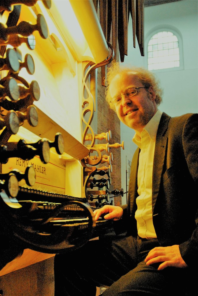Bild: Christian-Markus Raiser spielt  Passions-Orgelchoräle von JS Bach