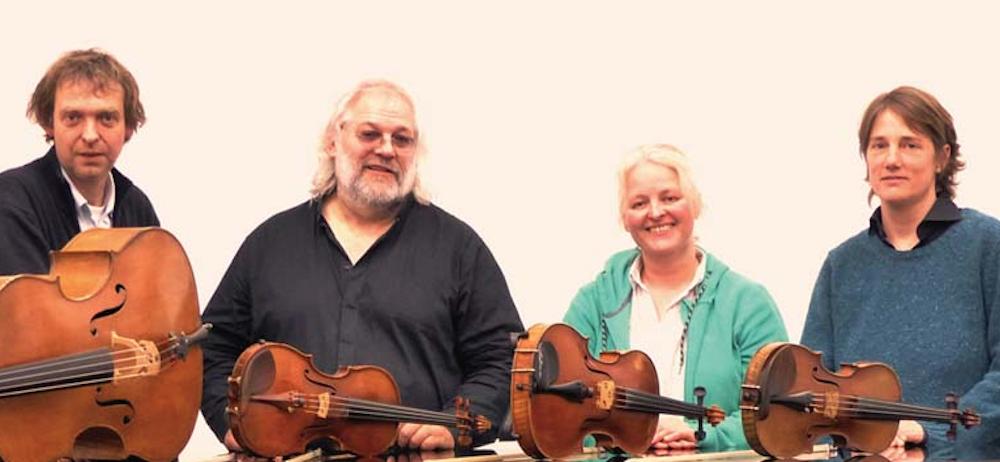 Bild: Morisot Quartett spielt Sieben Worte am Kreuz von Joseph Haydn