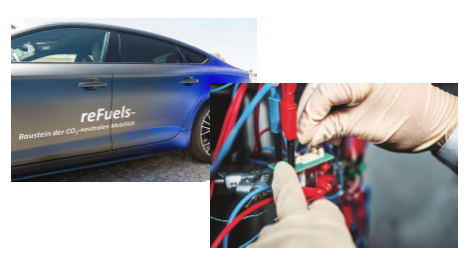 Bild: Batterien, Stromversorgung und Kraftstoffe der Zukunft