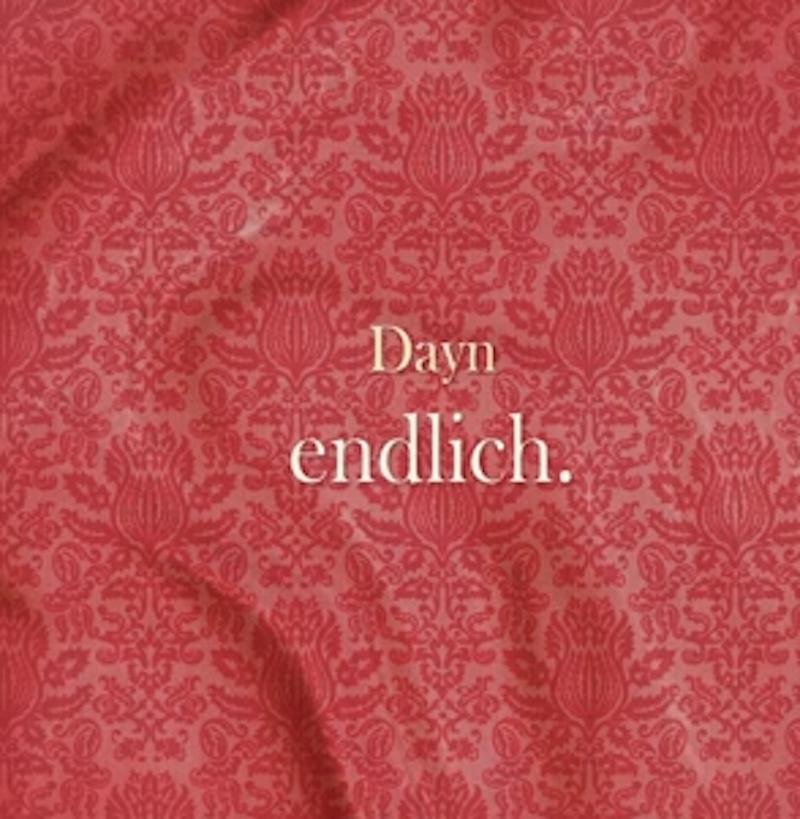 """Bild: Dayn  - EP """"Endlich"""""""