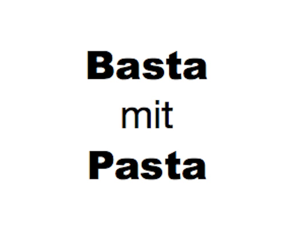Bild:  Basta mit Pasta