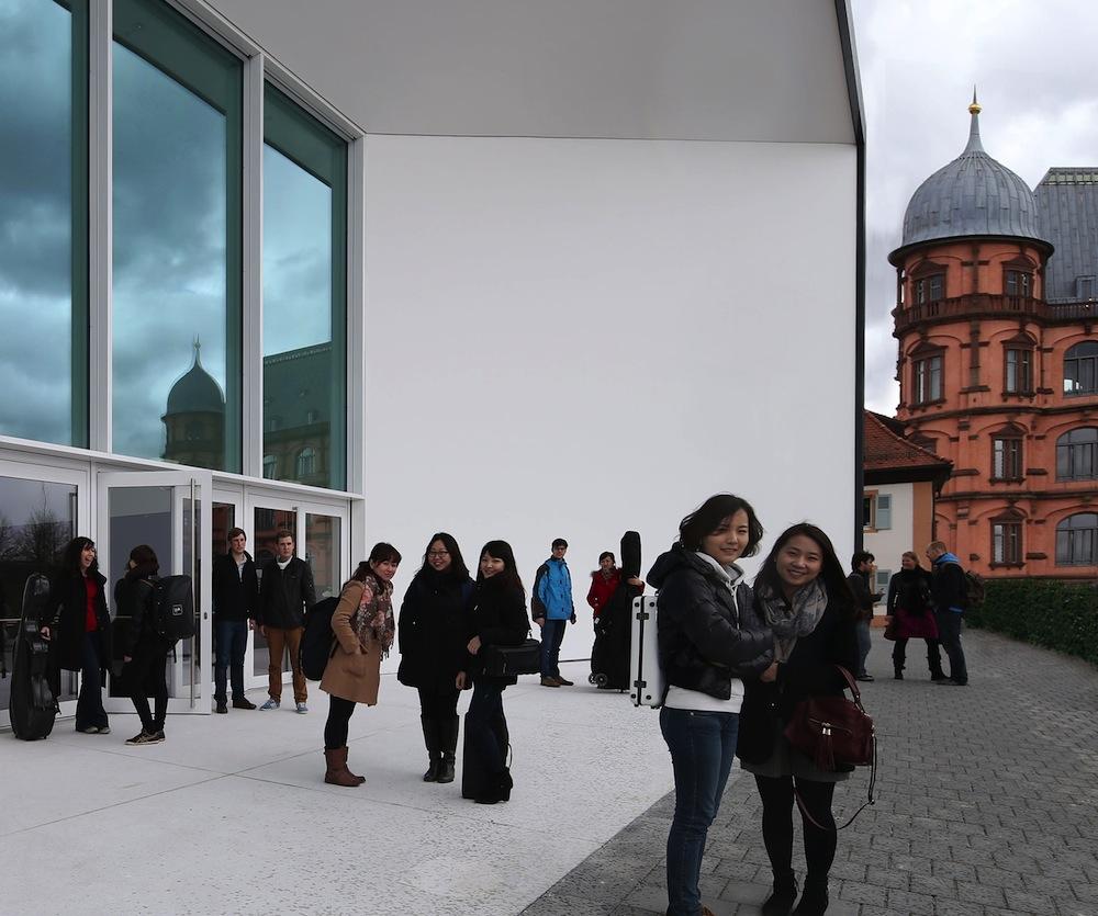Bild: Hochschule für Musik - Schloss Gottesaue